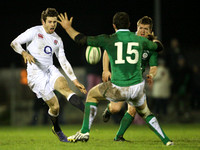 Rugby Union - Ireland Wolfhounds v England Saxons
