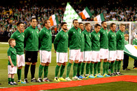 World Cup Qualifying - Group C . Rep of Ireland v Sweden