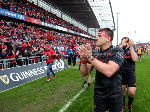 Munster v Scarlets    Guinness Pro12   7th May 2016