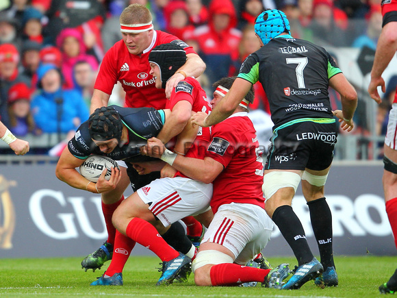 Munster v Ospreys  rugby   Guinness Pro12  semi final      20th May 2017